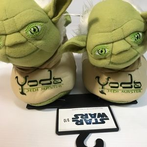 Star Wars Yoda Jedi Master Slipper Shoes Kids 9/10